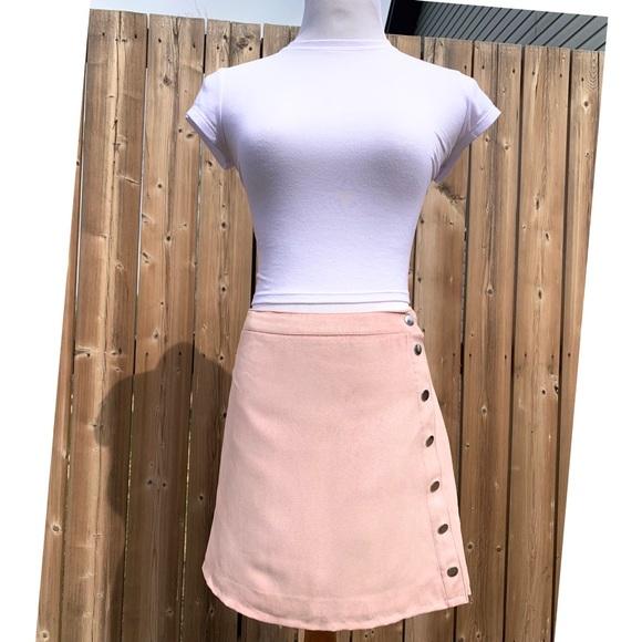 BOGO 2/$20| H&M DIVIDED |Faux Suede A-Line Skirt